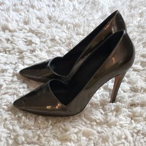 Alice + Olivia Metallic Pump High Heel